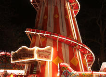The helter skelter in Winter Wonderland, Hyde Park London