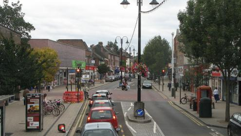 New Malden High Street