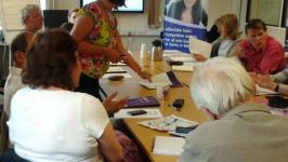 A SurreySave outreach meeting in Norbiton