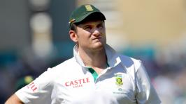 Graeme Smith, captaining South Africa at Surrey's home, The Oval, in 2012