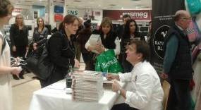 Michelin-starred TV Chef Raymond Blanc Visits Kingston