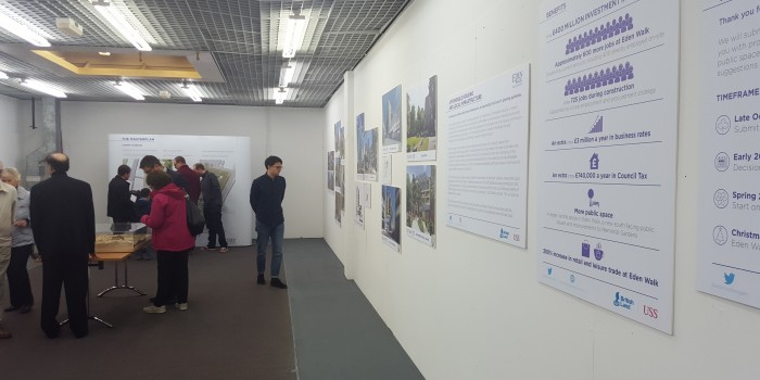 Final plans for Eden Walk regeneration opened for public scrutiny