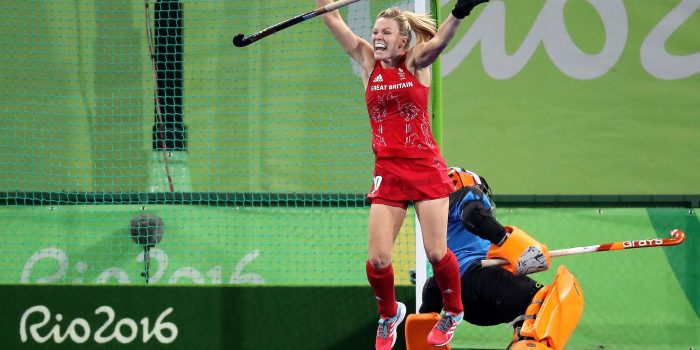 Surbiton star Hollie Web collects award as Team GB hit gold again