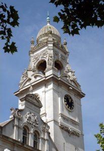 Shame-faced: The council clock
