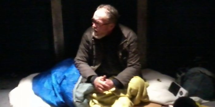 'Room at the inn' for homeless man as local angel intervenes