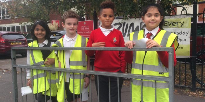 Kingston school children crack down on speeding drivers