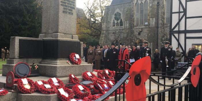 Kingston honours veterans past and present on Remembrance Day