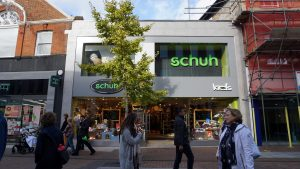 Schuh Kingston is taking part in the Sell Your Soles campaign