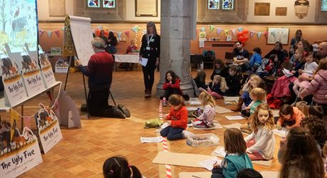 Gruffalo illustrator entertains for the Environment Trust