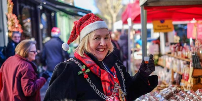 """You can do it,"" – says Julie Pickering, mayor of Kingston upon Thames"