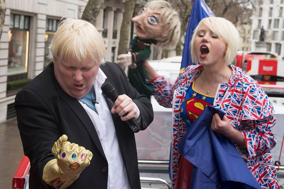 Only 'superheros' can save Britain from Brexit - they said