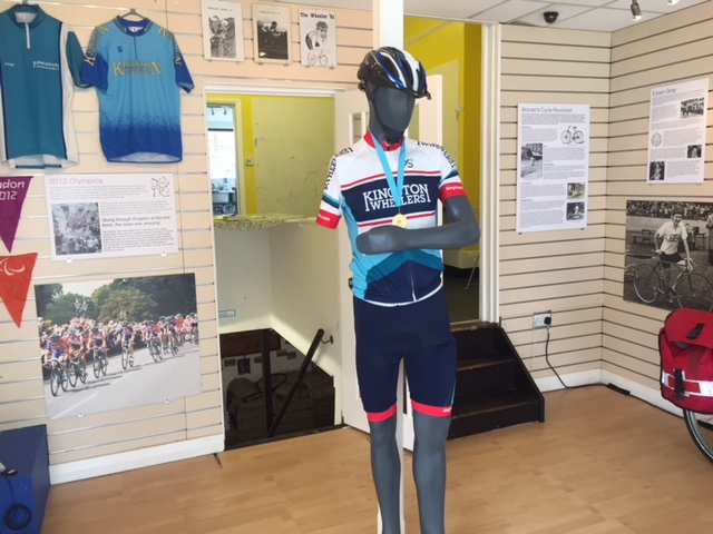 Quirky Surbiton Museum of Futures celebrates cycling history