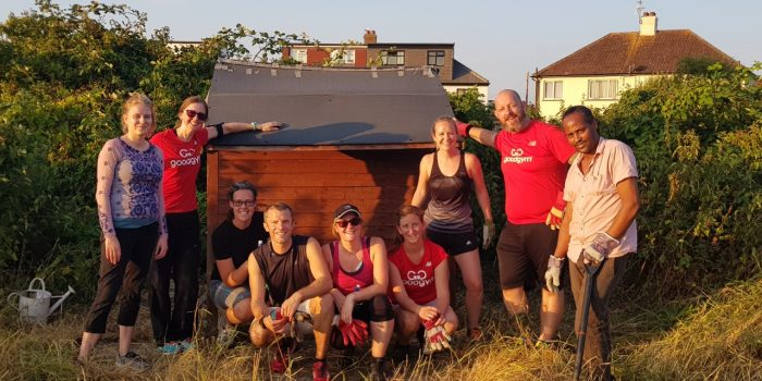 Local running group takes up gardening for mental health charity