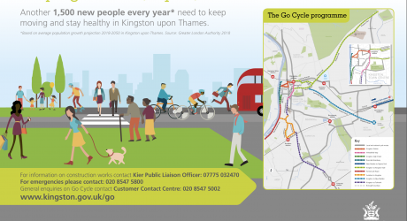 TfL-backed Go Cycle plan underway to turn Kingston into a 'Mini-Holland'