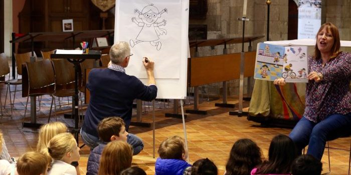 Mr Men author opens Kingston's Children's Literary Festival