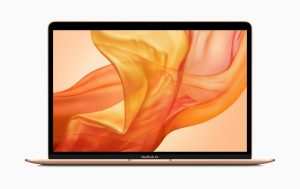 new MacBook Air in rose gold