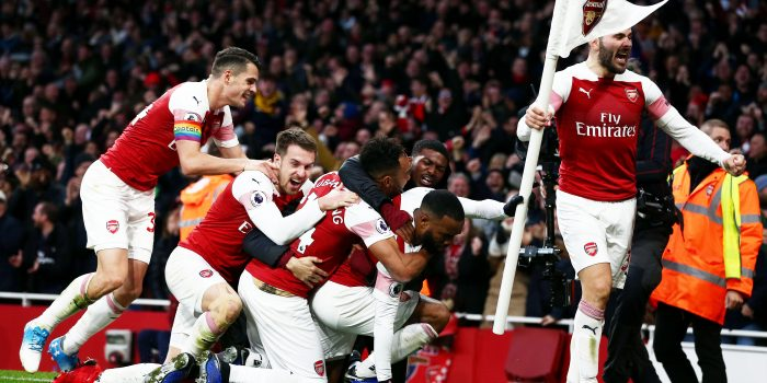 Arsenal 4 – 2 Tottenham Hotspur – Unai Emery's new-look Arsenal dispatch Spurs in derby thriller