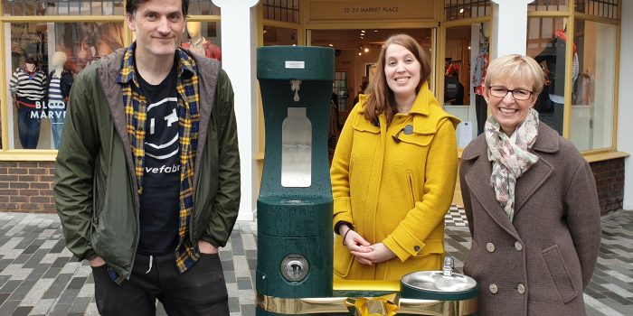 New water fountain set to help reduce plastic waste in Kingston