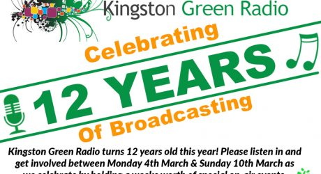 Kingston Green Radio celebrates birthday with live events