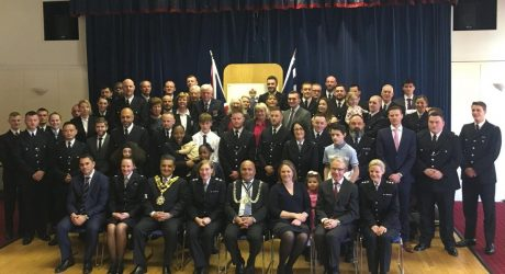 Kingston police officers and volunteers awarded for heroism and bravery