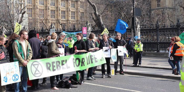 Extinction Rebellion protesters bring large parts of London to a standstill