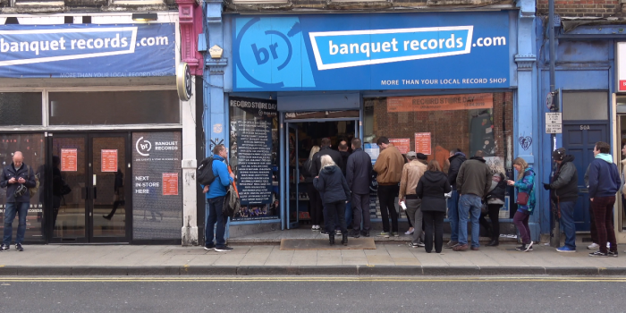Video: Banquet Records in Kingston celebrates Record Store Day