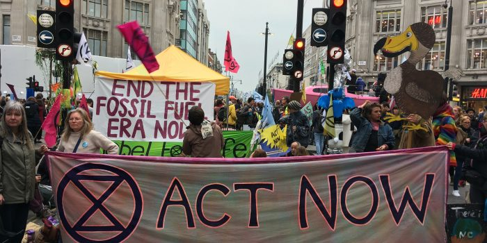 "Extinction Rebellion protesters to occupy London ""until our demands are met"""