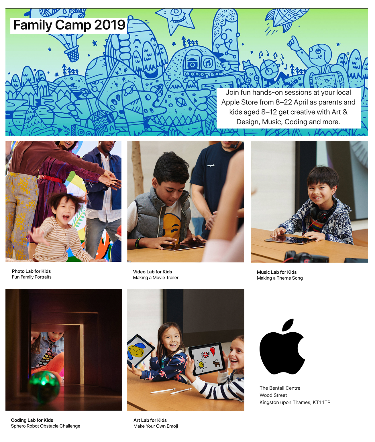 Apple Family Camp Sessions