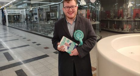 """Kingston's teenage election candidate says he's """"in it to win it"""""""
