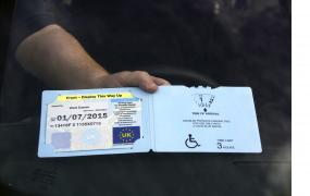 Blue Badges help those who are disabled or blind