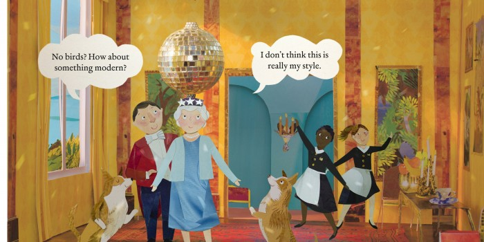 New children's book celebrating the Queen illustrated by KU graduate