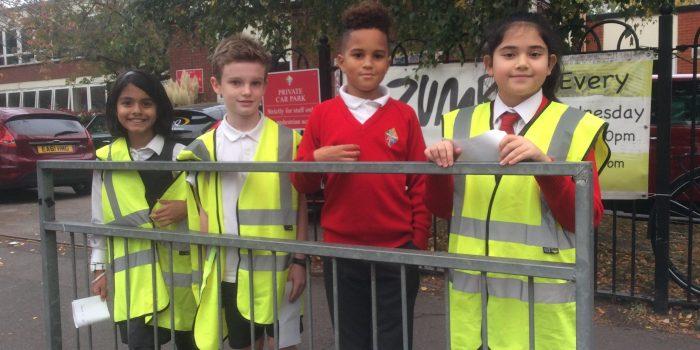 Kingston school children crack down on speeding drivers