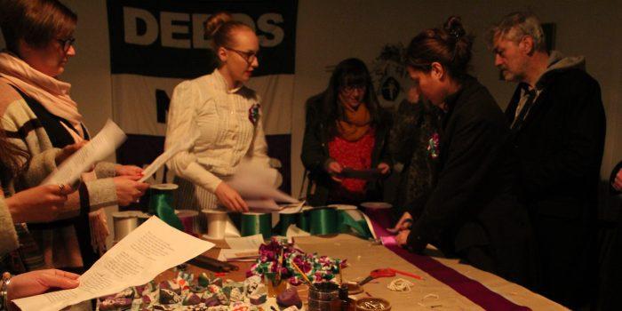 Suffragette City celebrates women's vote in the London Pavilion
