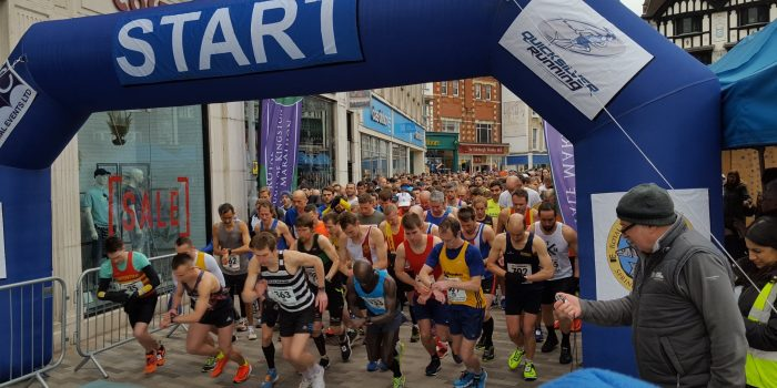South-west Londoners run for the spring half marathon in Kingston
