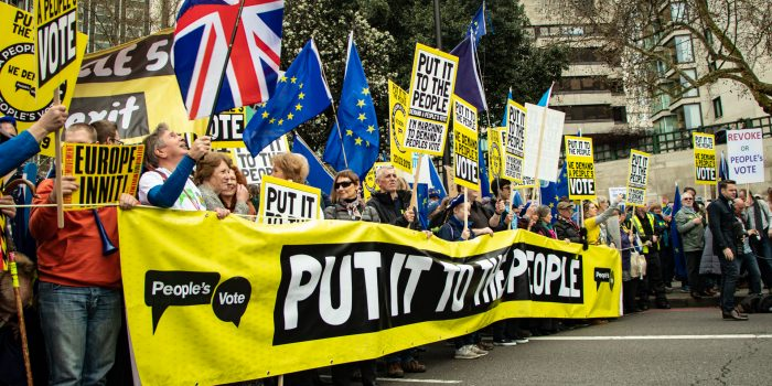 In Pictures: One million descend on London to march for a People's Vote on Brexit