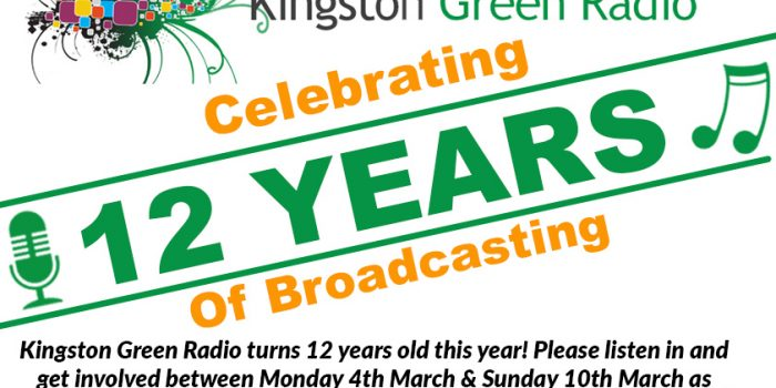Kingston Green Radio celebrates birthday with live events