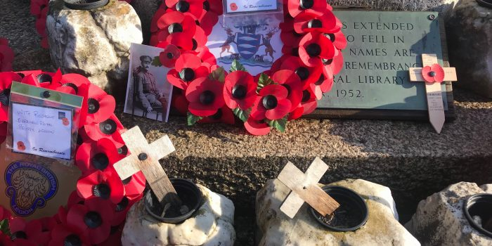 We will remember them: Kingston locals mark Remembrance Sunday