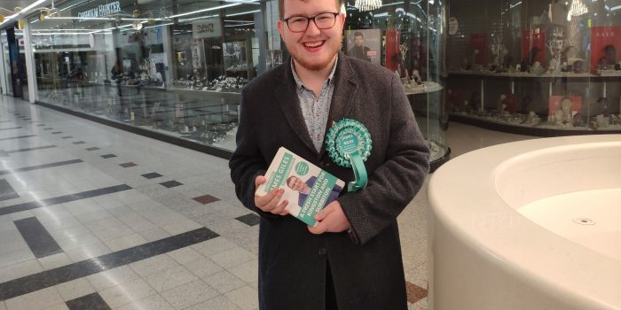 "Kingston's teenage election candidate says he's ""in it to win it"""