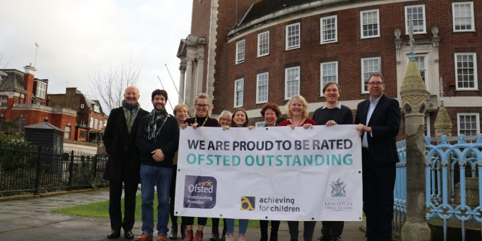 """Kingston Council's children's services awarded """"outstanding"""" by Ofsted"""