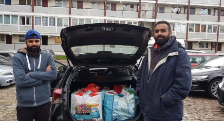 Muslim charity helps Kingston Upon Thames locals in COVID-19 crisis